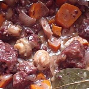 rapide à cuisiner Bourguignon Végétalien recette végétarienne