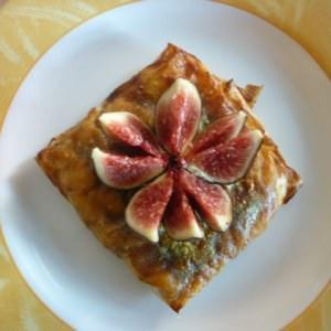 simple à préparer Brick de pommes caramélisées avec son chocolat caramel recette végétarienne