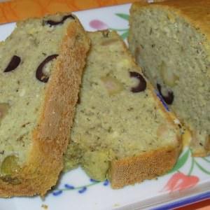 simple à préparer Cake au thé matcha et aux olives préparation