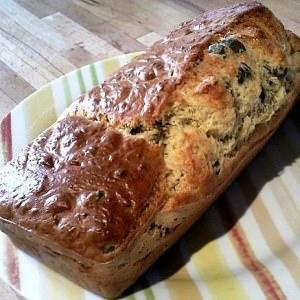 simple à cuisiner Cake aux olives vertes préparation