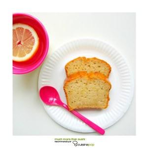 rapide à cuisiner Cake tout citron cuisiner la recette