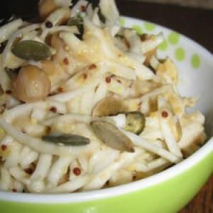 facile à cuisiner Céleri rémoulade aux pois chiches cuisine végétarienne