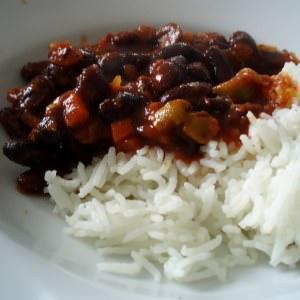 facile à cuisiner Chili végétarien préparation