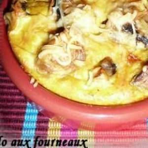 rapide à cuisiner Clafoutis aux champignons de Paris préparer la recette