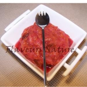 rapide Compote pomme prunes à la cardamome recette végétarienne
