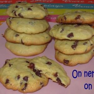 simple à préparer Cookies au quinoa et aux pépites de chocolat préparation