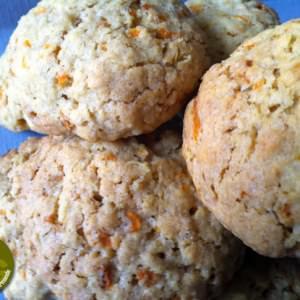 facile à cuisiner Cookies aux flocons d'avoine et aux carottes cuisiner la recette