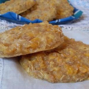 rapide à cuisiner Cookies à la pomme et aux flocons de céréales recette de