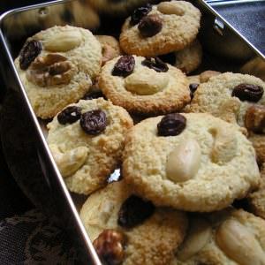 simple à préparer Cookies sans lait ni gluten préparation