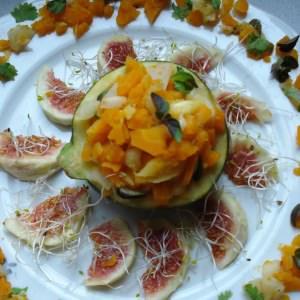 simple à cuisiner Courgette farcie recette de