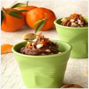 facile Crème d'azukis aux clémentines Corse cuisiner la recette