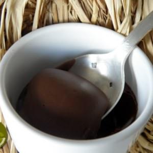 simple à préparer Crèmes au chocolat et noisettes cuisine végétarienne
