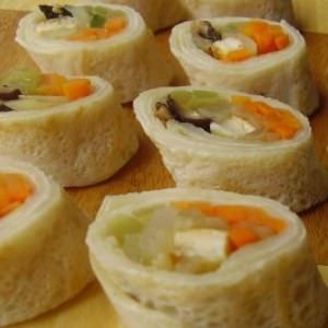 rapide à cuisiner Crêpe coréenne préparation