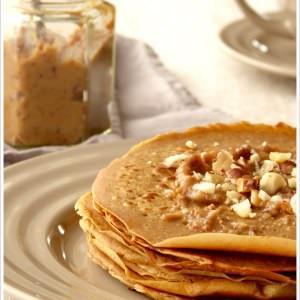 simple à préparer Crêpes à la farine de châtaigne et sa tartinade de... recette