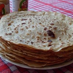 facile à cuisiner Crêpes de la Chandeleur (Vegan) préparation