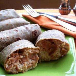 facile Crêpes jambon fromage  recette végétarienne