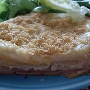 facile à cuisiner Croque-monsieur végétalien recette