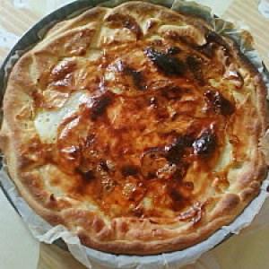 simple à préparer Croustade aux pommes et aux fruits secs préparation