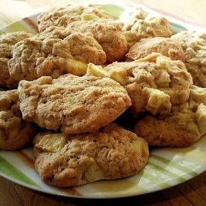 facile Crousti-moelleux à la pomme et à l'avoine cuisine végétarienne