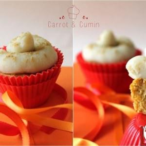 facile à cuisiner Cupcakes Carotte et Cumin recette