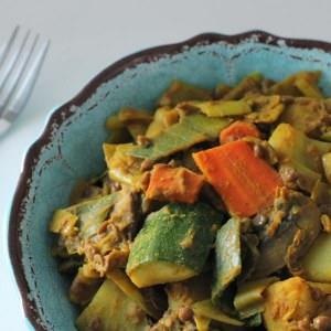 simple à préparer Curry de légumes recette