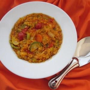 rapide Dhal de légumes recette végétarienne