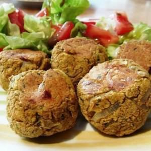 simple à préparer Falafel recette végétarienne