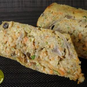 simple à cuisiner Terrine quinoa légumes préparer la recette