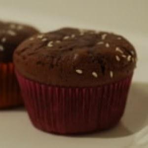 facile à cuisiner Fondants au chocolat, à la purée d'amande et aux graines... préparation