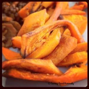 simple à préparer Frites de potimarron recette
