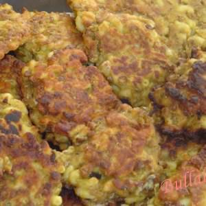 facile à cuisiner Galettes de Coquillettes au Curcuma recette végétarienne
