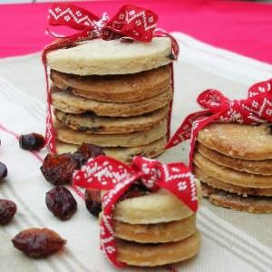 facile Galettes croustillantes cranberries sans gluten cuisiner la recette