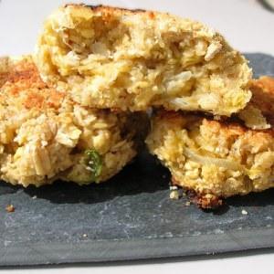 rapide Galettes croustillantes d'avoine recette végétarienne