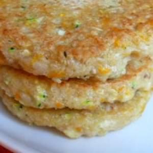facile Galettes Quinoa légumes préparer la recette