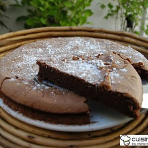 simple à cuisiner Gâteau au chocolat cuisine végétarienne