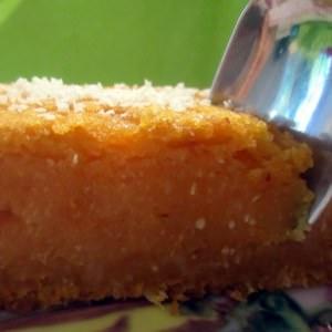 simple à préparer Gâteau de patate douce à la noix de coco (vegan) recette végétarienne