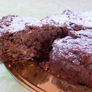 simple à préparer Moelleux au chocolat et au riz soufflé  préparer la recette