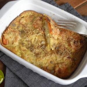 rapide à cuisiner Gratin de patates douces et panais au quinoa recette