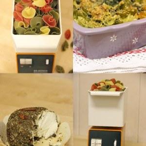 simple à préparer Gratin de pâtes au chèvre et épinards recette végétarienne