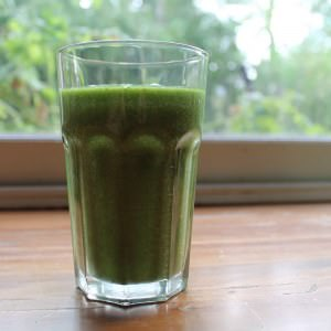 simple à cuisiner Green smoothie préparation
