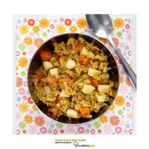 simple à cuisiner Kitchari aux lentilles corail recette de