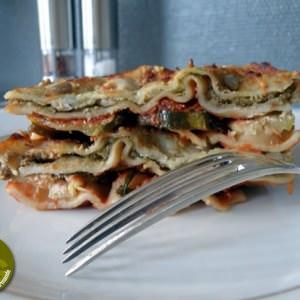 facile à cuisiner Lasagnes au caviar d'aubergines et ricotta cuisiner la recette