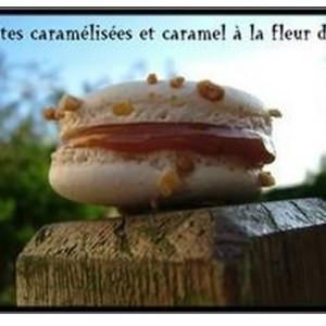 simple à préparer Macarons au Caramel à la fleur de Sel recette