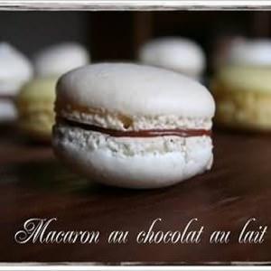 simple à cuisiner Macarons au Chocolat au Lait recette