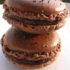 facile Macarons ganache au chocolat cuisiner la recette