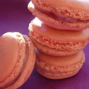 simple à cuisiner Macarons ganache Chocolat blanc & Framboises recette de