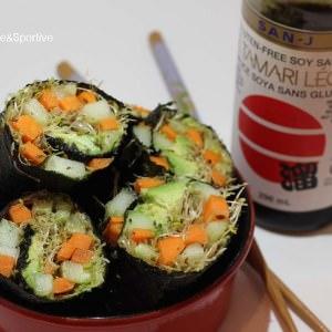 rapide à cuisiner Makis de légumes recette végétarienne