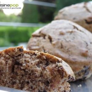 facile Mini-cakes à la farine de châtaigne et au chocolat (... recette