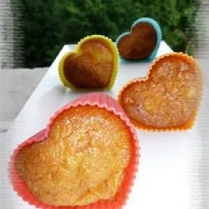 simple à cuisiner Muffins à l'ananas & aux carottes préparation