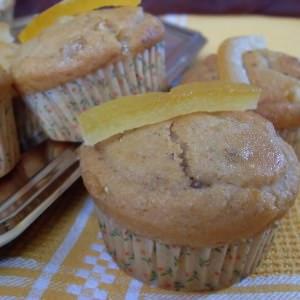 rapide Muffins à l'orange confite et Grand-Marnier... cuisiner la recette